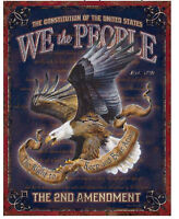 We then people Metal tin sign support military USA home garage Wall decor new