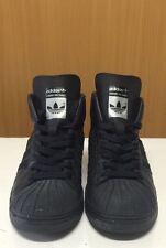 Adidas La Marque Aux 3 Bandes Toe Shell Black/Grey Youth Size 5