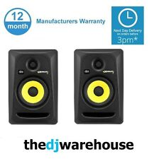 2x KRK ROKIT 5 RP5G3 RP5 G3 Pair - Active Studio Monitor Speakers