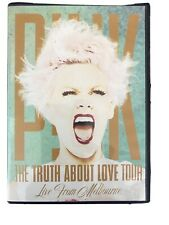 Pink The Truth About Love Tour Live From Melbourne DVD CONCERT HITS