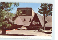 Lake Tahoe California Nevada Hotel Casino Dexter Press New York Postcard