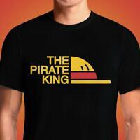 The Pirate King Parody Logo Unisex Vintage Black T-Shirt One Piece S-6XL