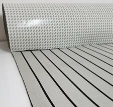 Marine Flooring  EVA Foam Boat Decking Sheet 3M Self-Adhesive - Grey