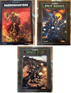Warhammer 40K Codex - Multi listing Choose items from menu