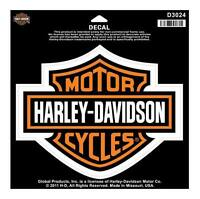 Harley-Davidson Bar & Shield Large Decal, Large Size Sticker D3024