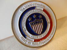Coast Guard U.S. Shield of FREEDOM Chief of Staff Metal Challenge Coin