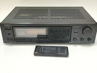 Onkyo TX 822 Stereo Receiver Quartz Synthesized Tuner Amplifier Am/Fm Radio Used