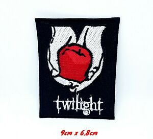 Black Vampire Twilight New Moon Blood iron sew on Embroidered Patch#926