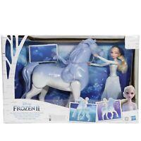 Disney Frozen 2 Elsa and Swim and Walk Nokk Toy for Kids Frozen Dolls Horse NEW