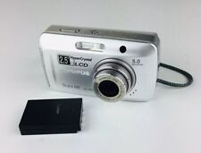Olympus Stylus 500 Digital 5.0MP Digital Camera - Silver