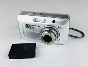 Olympus Stylus 500 Digital 5.0MP Digital Camera - Silver