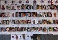 2017 James Bond Archives Final Edition Autograph Card Set Of 56 Roger Moore RARE