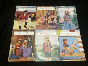 LOT OF 6 MAGIC ATTIC CLUB PAPERBACK BOOKS BY SHERI COOPER SINYKIN SCHOLASTIC