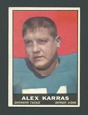 Alex Karras Detroit Lions 1961 Topps Card #35