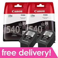 Original Canon PG-540 Black Inks Twin Pack for PIXMA MG3150 MG3250 MG3650 MX535