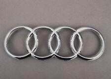 New Genuine Audi Q7 Q5 Q3 A7 A6 Front Grille Rings Emblem Badge 4H0853605B2ZZ