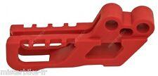 Patin De Guide Chaine Rouge Pour Honda CR 125-250-500 1999=>2004