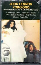 """Beatles (Lennon) """"Life With The Lions"""" 1969 US Zapple SEALED Cassette"""