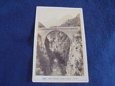 OLD ALBUMEN/CABINET CARD: SAINT-SAVEUR ~ PONT NAPOLEON~ca 1880