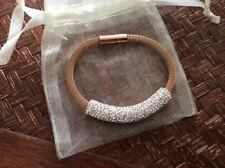 Rose Gold Plated Bangle Adjustable Costume Bracelets