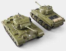 RC Panzer Battle Set 1:30 M26 Pershing + M4A3 Sherman Infrarot Kampfsystem 2,4G
