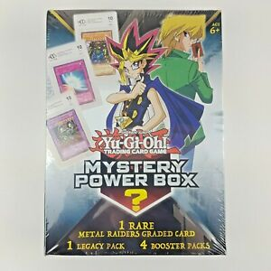 Yu-Gi-Oh!: Mystery Power Box [Metal Raiders Edition] W/ One Graded BCCG Card.