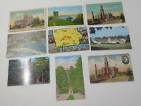 Vintage Postcards IOWA Lot of 9