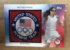 2016 Topps Brittney Griner Womans USA Basketball Patch Card