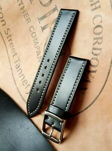 Shell Cordovan Watch strap Hand Made Watch band Leather strap