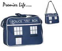 Dr Who 50th Anniversary Tardis Design - Retro Shoulder Messenger Bag