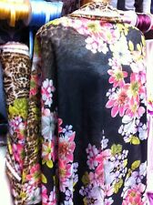 NEW*top Quality flowy Georgette flower camouflage Print /& plain matching Fabric