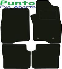 FIAT PUNTO EVO abarth su misura tappetini auto ** Qualità Deluxe ** 2016 2015 2014 2013