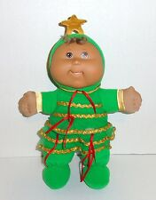 Cabbage Patch Kids Christmas Plush Baby Doll Green Tree Walmart Exclusive C11