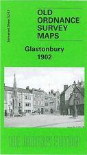 OLD ORDNANCE SURVEY MAP GLASTONBURY 1902