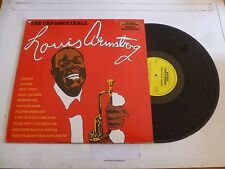 LOUIS ARMSTRONG - The Unforgetable Louis Armstrong - 1974 UK 12-track mono LP