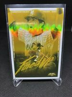 2020 Topps Fire Fired Up Gold Minted Christian Yelich Milwaukee Brewers #FIU-11