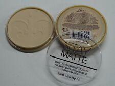 RIMMEL STAY MATTE PRESSED POWDER SHINE CONTROL WITH MINERALS 001 TRANSPARENT