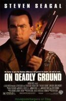 ON DEADLY GROUND MOVIE POSTER Original DS 27x40 STEVEN SEAGAL