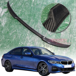 Carbon Fiber BMW 2019~2021 G20 3-series Sedan trunk spoiler ◎