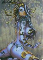 """Lady Death """"Candlemass""""   Metallicard  Ltd. Ed. 199 with Art by Jesse Wichmann"""