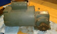DODGE FB56WG12A10 REDUCTION GEAR BOX WITH 1/8 HP RELIANCE MOTOR