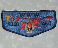 "WWW KOLA 464 Patch - Boy Scouts - 4 5/8"" x 2 1/4"""