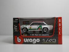 Bburago 38010 FIAT 131 Abarth - METAL RACE Scala 1:43
