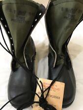 Vietnam Era Spike Protective Jungle Boots US GI New 8 Wide Panama Sole
