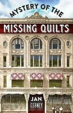 Mystery of the Missing Quilts (Mission Quilt), Jan Cerney,1604602104, Book, Good