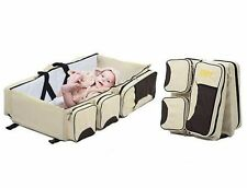 New Baby Bed Nursery Diaper Changing Crib Nappy Bag Fold Infant Travel Cradle