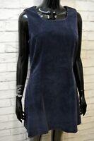 TRUSSARDI Vestito Abito Donna Taglia 44 Tubino Foderato Casacca Dress Women's