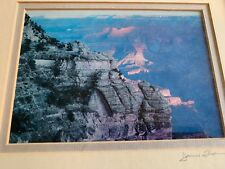 MOUNTAIN James Thomson HAND SIGNED PHOTOGRAPH ART PRINT WOOD FRAME