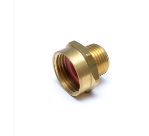 """1/2"""" Male NPT Pipe to 3/4"""" Female Garden Hose GHT Thread  Adapter FasPartsUSA"""