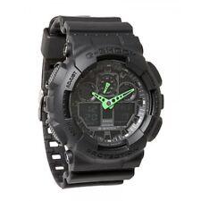 Casio G-Shock Duo Anti Magnetism Black Lrg Watch 200M WR RRP $249 GA-100MB-1ADR